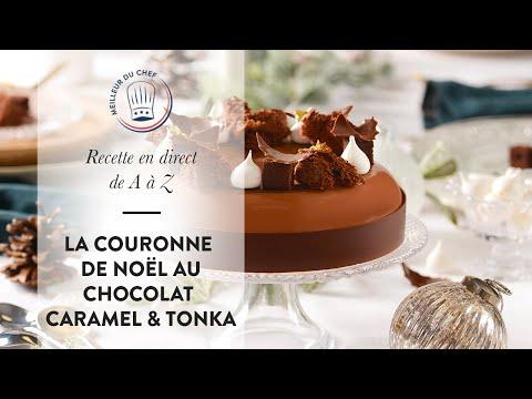 recette-de-noËl-expliquée-de-a-à-z-:-la-couronne-chocolat,-caramel-&-tonka-de-julien-loustau-!