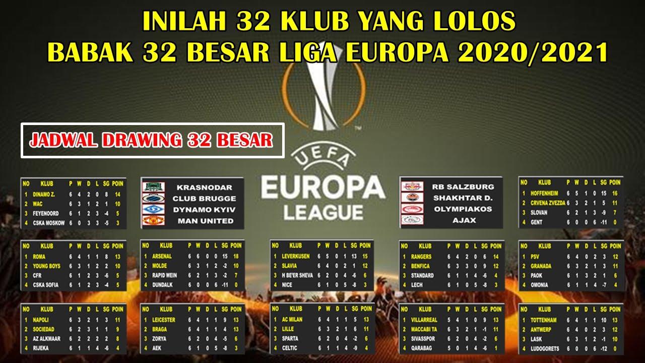 Jadwal Liga Eropa / Tudzd8lwlydypm - Skor langsung, jadwal ...