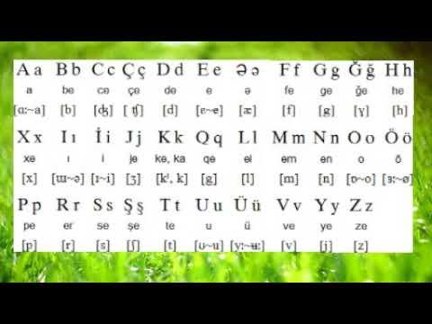 Азербайджанский язык видео уроки