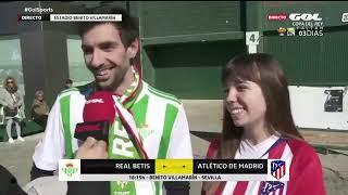 Real Betis - Atlético de Madrid: fútbol y amor en el Benito Villamarín