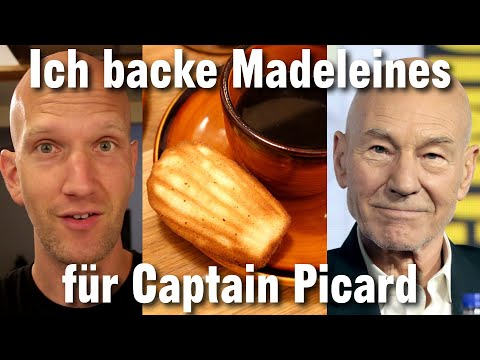 Madeleines für Captain Picard | Backformen aus Silikon taugen nichts