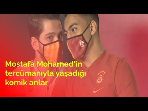 Mostafa Mohamed'in tercümanının imza töreninde yaşadığı komik anlar