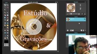 Como fazer adesivo para CD ou DVD usando Photo Scape