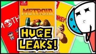 HUGE Nintendo Switch Leaks! |WHEN IS Next Nintendo Direct?