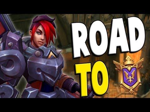 Ranked Ash: Road to GM #68 | Paladins Gameplay