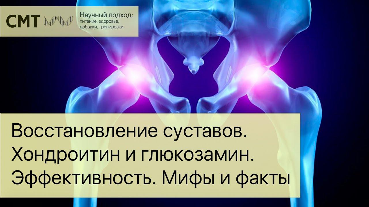 Восстановление суставов. Факты и домыслы. Эффективность хондропротекторов. Хондроитин и глюкозамин