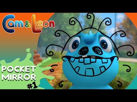 Hilarious Children Cartoon | Pocket Mirror | Cam & Leon