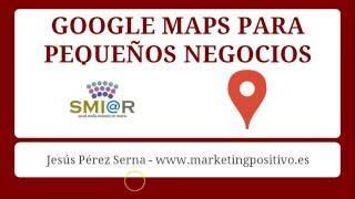 Google Maps para pequeños negocios