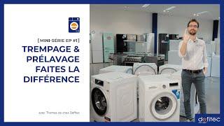 Lave-linge - Mode d'emploi | MINI-SÉRIE EP#1 : Le trempage et le prélavage