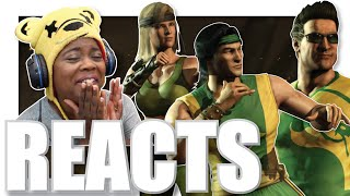 Mortal Kombat XL: Intros/Interactions   Trash Talkers   AyChristene Reacts