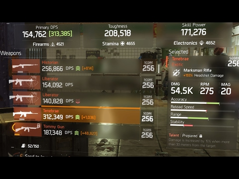 THE DIVISION - TOP 3 BEST EXOTIC PVE WEAPONS IN PATCH 1.6! MOST OVERPOWERED WEAPONS AFTER 1.6 PATCH