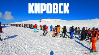 КИРОВСК 2021 Горнолыжный курорт Хибины Умба На машины с арендой лыж и квартиры