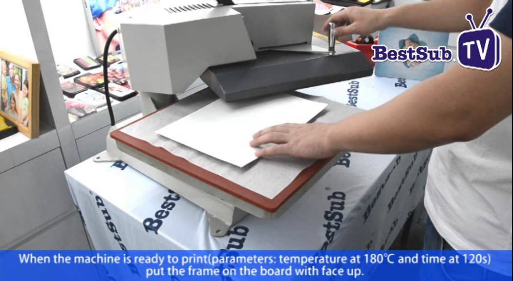 How to make sublimation puzzle frame by Best Sub Europe - YouTube