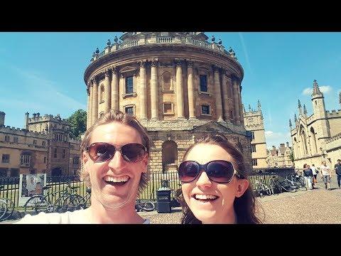 DAY TRIP TO OXFORD CITY UNIVERSITY ENGLAND!!!