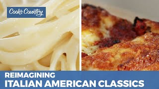 How to Make Detroit-Style Pizza and Fettuccine with Butter and Cheese