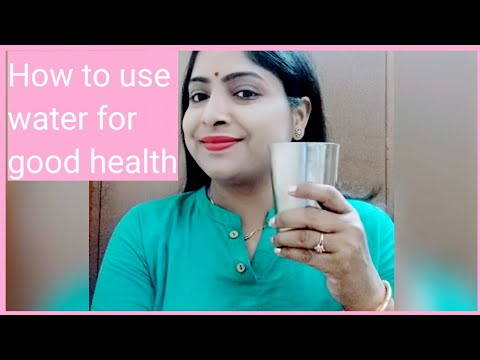 """#Yoganall#vandana """"Yoga n all""""Water therapy,How to use water for good health"""