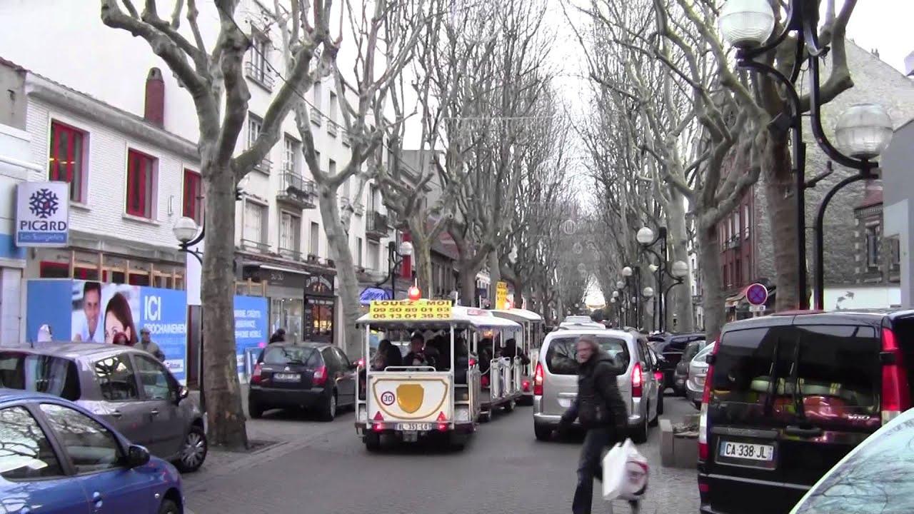 Petit train boulevard de Strasbourgà Aulnay sous Bois YouTube # Sport Aulnay Sous Bois