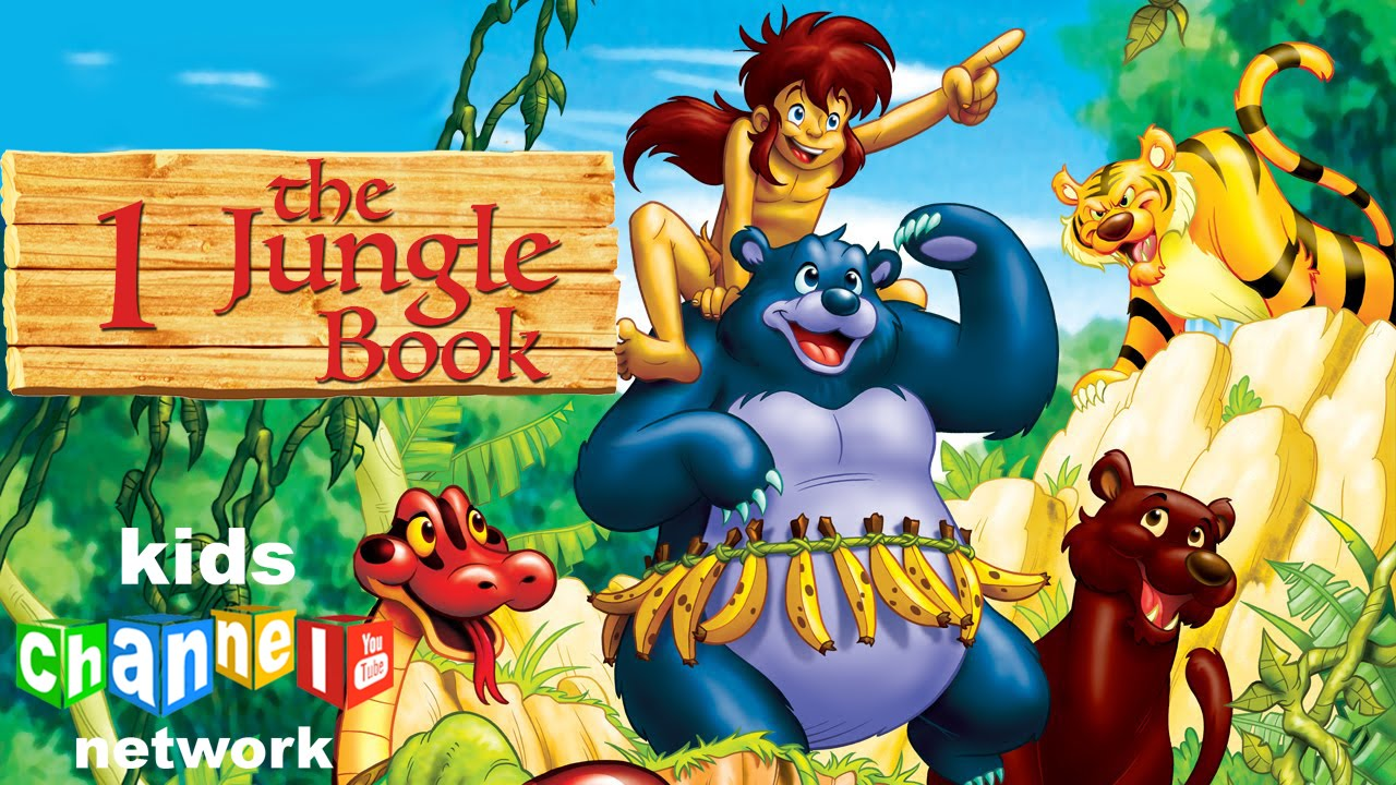 Animated jungle series book