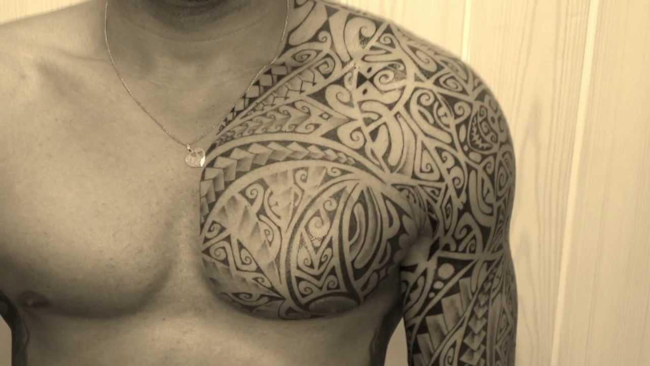 Tatouage Maorie Pec Bras Kolorisse Developpement