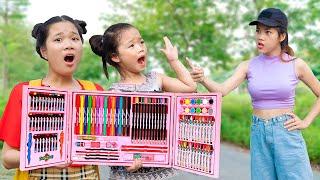 Hộp Bút Màu Dành Cho Em ❤ Dạy Trẻ Biết Chia Sẻ Với Người Nghèo - Trang Vlog