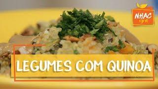 Legumes com quinoa e molho tahine | Bela Gil | Bela Cozinha