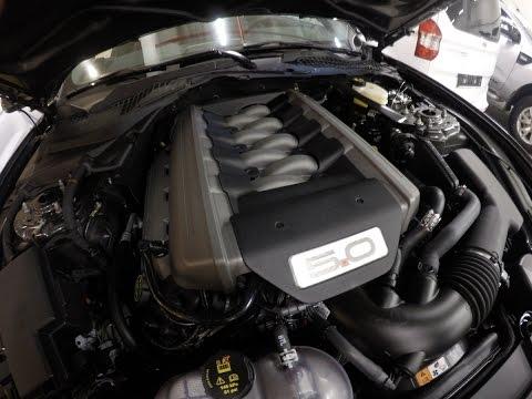 2015 Ford Mustang GT 5.0 V8 Motor & Egzoz Sesi  (Engine & Exhaust Sound)