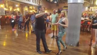 Cuban Salsa Master level class in Havana Club - Tel Aviv 6/6/17 - 4K