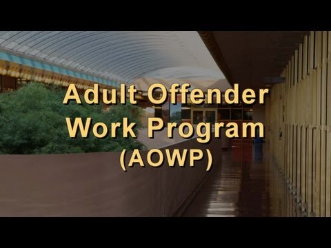 Adult Offender Work Program