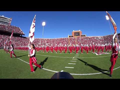 The Pride Of Oklahoma 2016 Pre game