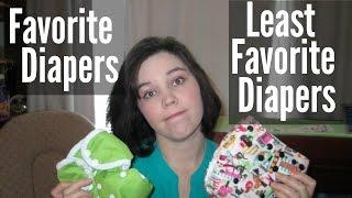Favorite & Least Favorite Cloth Diapers