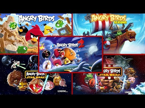 Evolution of Angry Birds Games 2009 - 2015