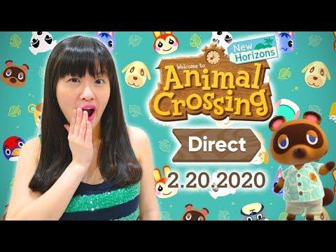 Animal Crossing: New Horizons Direct 2.20.2020 REACTION