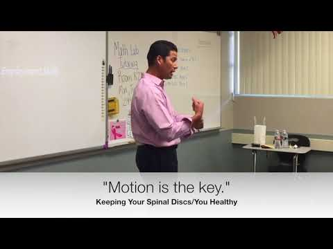Spinal Motion keep You Healthy, Resolves Neuropathy. Clip