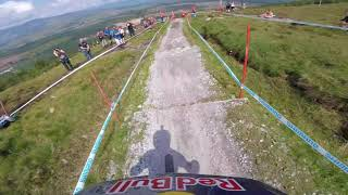 Rachel Atherton Most Dramatic GoPro run Fort William Finals EVER
