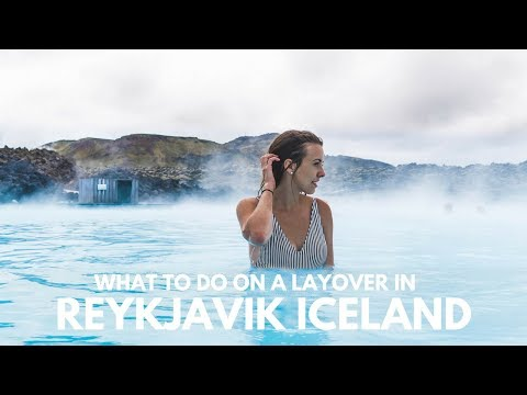 BLUE LAGOON during a layover in REYKJAVIK ICELAND