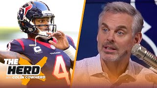 Jets should make a play for Deshaun Watson, Gase in Seattle is a mistake - Colin | NFL | THE HERD