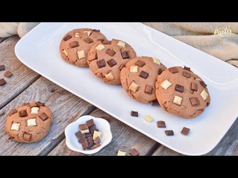 recette-cookies-3-chocolats-!