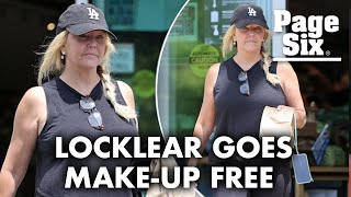 Heather Locklear goes makeup-free while grabbing a bite to eat at Erewhon | Page Six Celebrity News