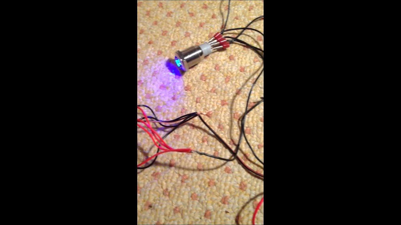 LED Beleuchtung mit Schalter - YouTube