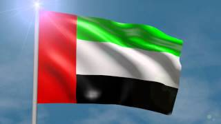 uae national anthem and flag