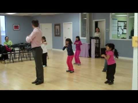 Kids Mid-Year Recital - Madagascar Dance - Tuesday Hip Hop Group (4.5-6 year olds)