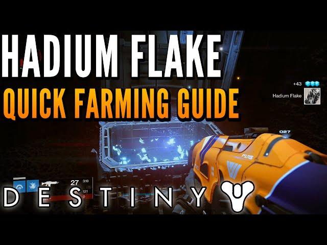 Destiny - Hadium Flake, Wormspore, and Reciprocal Rune Farming Location