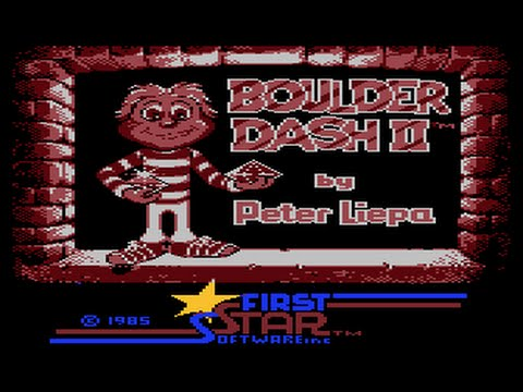 Boulder Dash 2  Intro Atari 800