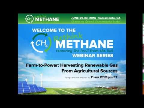 Farm to Power: Harvesting Renewable Gas From Agricultural Sources