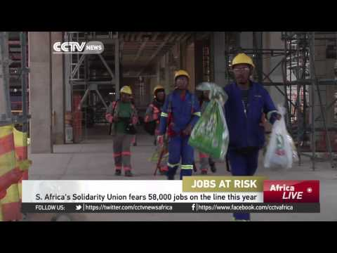 South Africa's Solidarity Union fears 58,000 jobs on the line this year