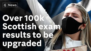 Over 100,000 exam results to be upgraded after Scottish government u-turn