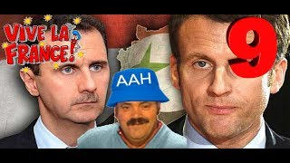 VIVE LA FRANCE ! #09 : Macron VS Syrie, S.J.W. VS Bonjour & Parti Socialiste VS Grosse lose !!!
