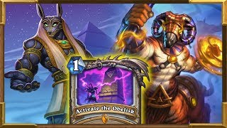 Hearthstone: Quest Resurrect Big Priest | Activate the Obelisk | Saviors Of Uldum New Decks