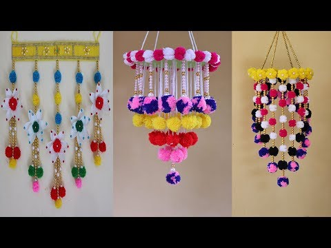 3 Amazing Wall Decor hanging Ideas | Easy wall hanging craft ideas | DIY Projects