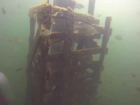 Scuba diving Tower @  Lake Okoboji